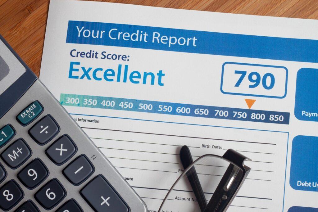 Building personal credit